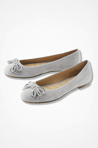 """Cassi"" Flats by Me Too®, Light Grey, large"