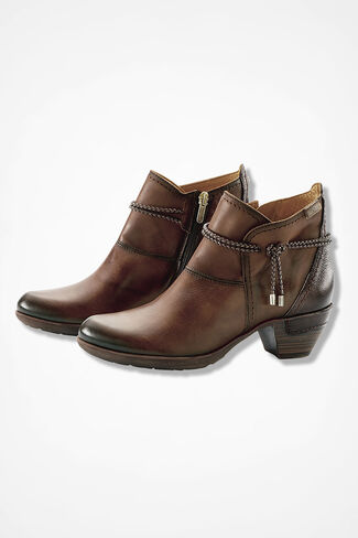 """Rotterdam"" Leather Boots by Pikolinos®, Brown, large"
