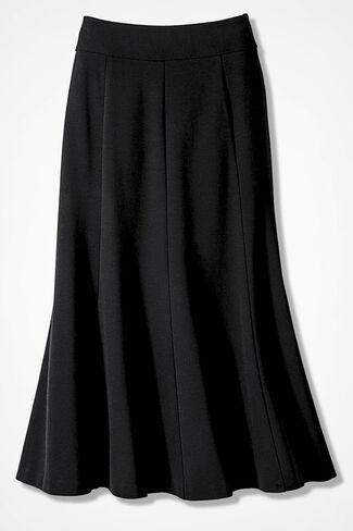 Ponte Perfect® Boot Skirt, Black, large