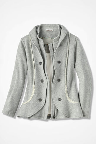 Spirit Foothills Jacket, Heather Grey, large