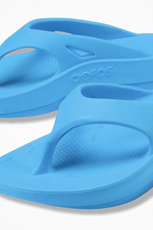 OOFOS® Original Thongs, Bermuda Blue, large