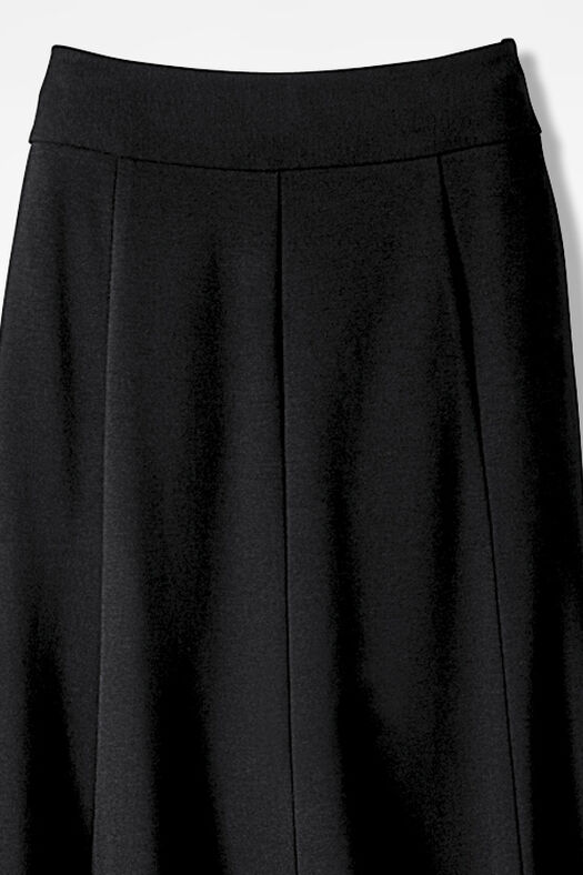 Ponte Perfect® Boot Skirt, Black, large