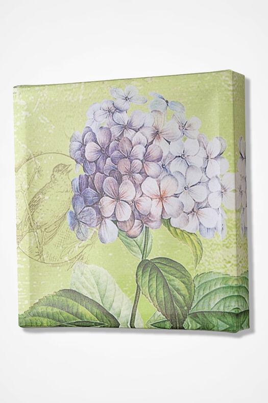 Hydrangea Canvas Print, Green, large