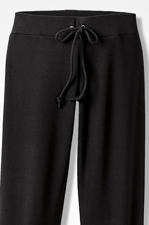 Essential Supima® Pants, Black, large