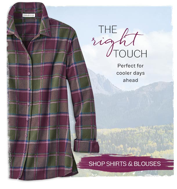 SHOP SHIRTS AND BLOUSES
