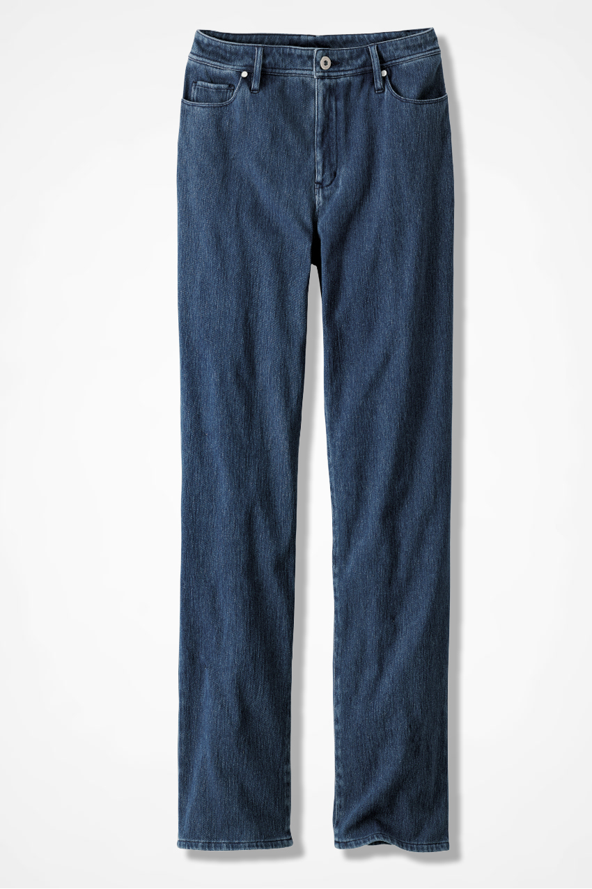 cff752cff7592 Classic Knit Denim Straight Leg - Women s Denim