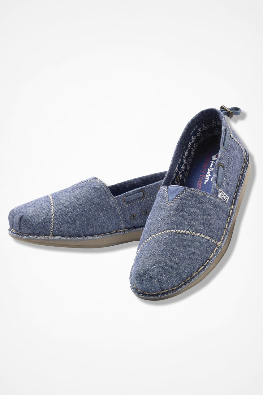 Bobs Sailboat Shoes By Skechers Denim Large