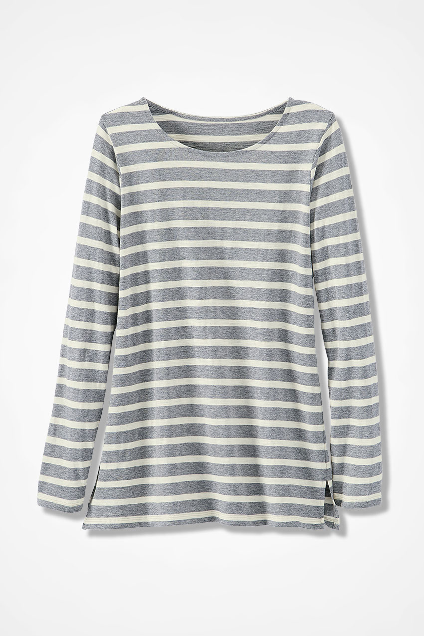 6e17019320d Lots of Stripes Tunic - Coldwater Creek