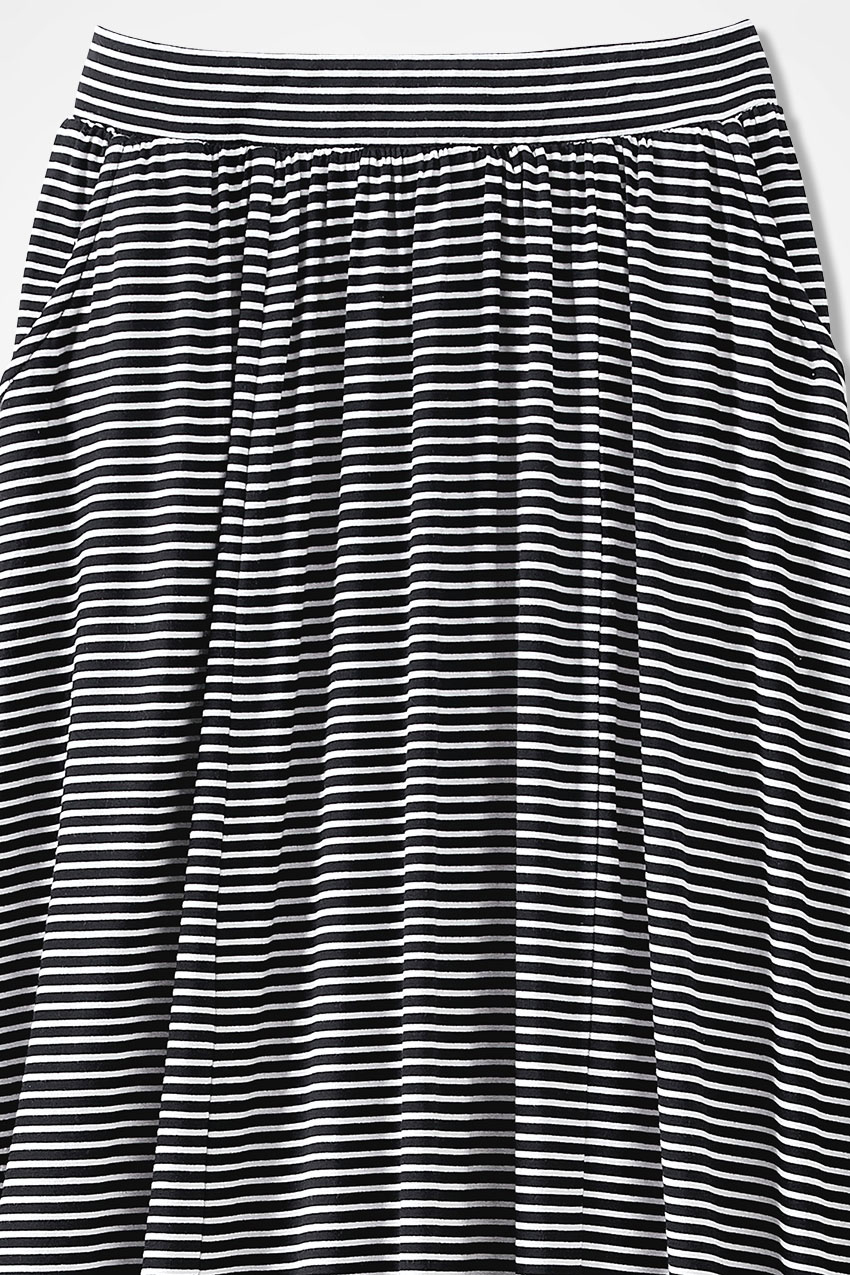 Striped Free-n-Easy Knit Maxi Skirt - Coldwater Creek
