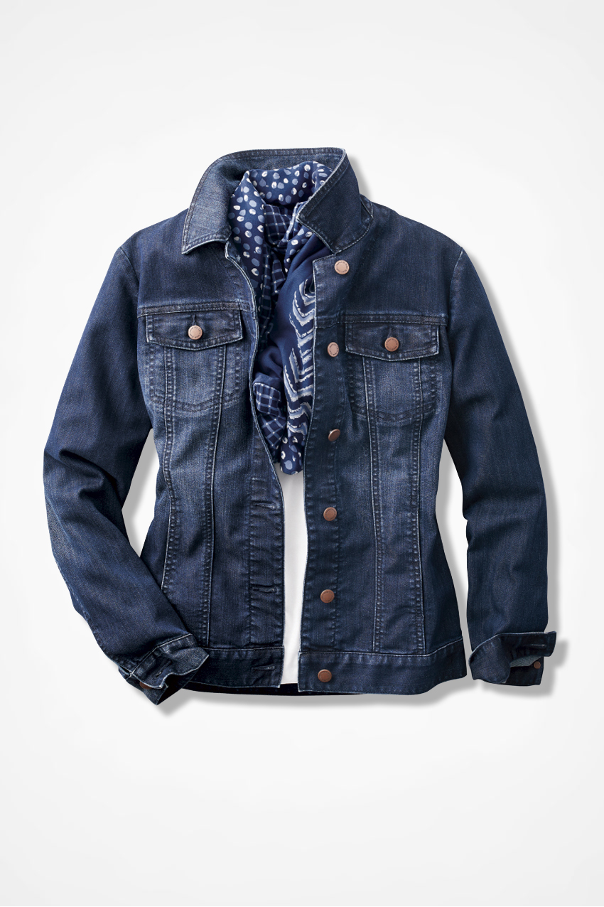 Denim Jacket Women S Jackets Coldwater Creek