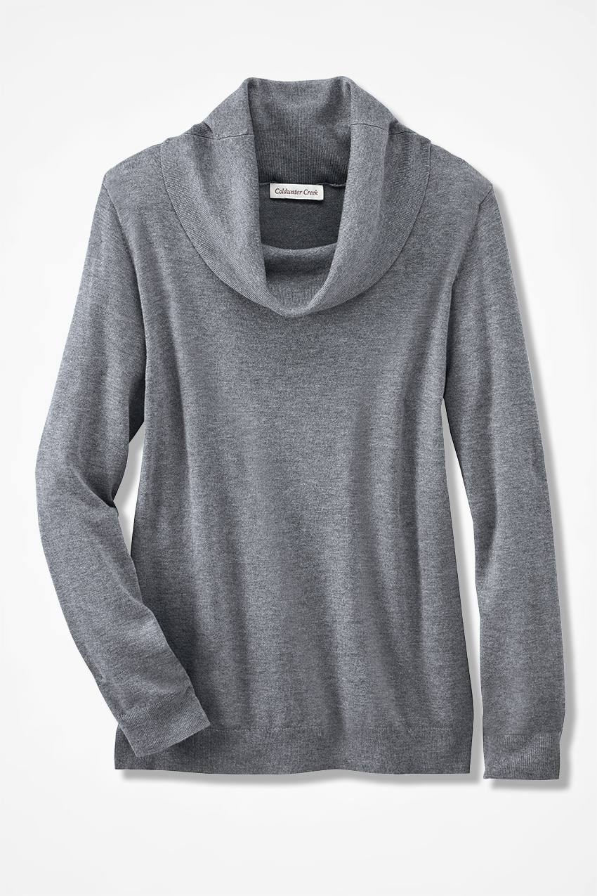 So-Soft Cowlneck Sweater - Coldwater Creek