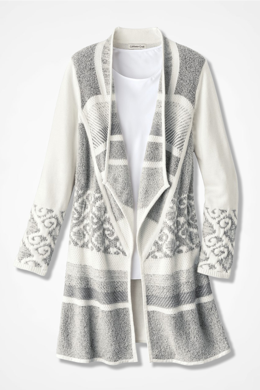 Winter Harmony Sweater Coat - Coldwater Creek