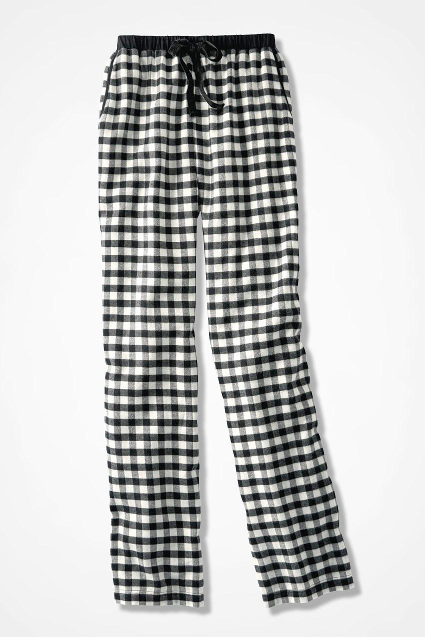 Buffalo Check Flannel PJ Pants