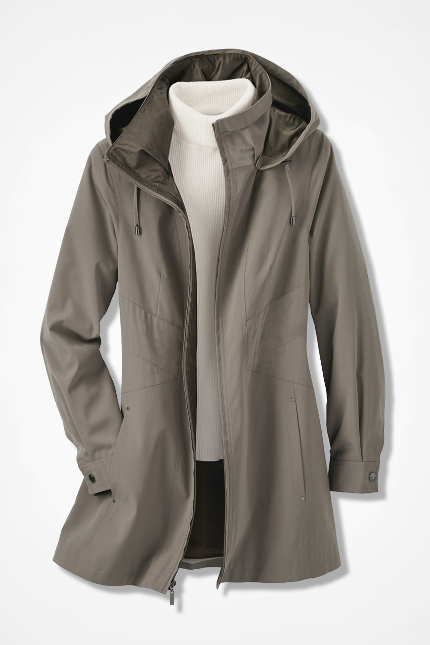 58e81742339 Three-Season Raincoat - Coldwater Creek