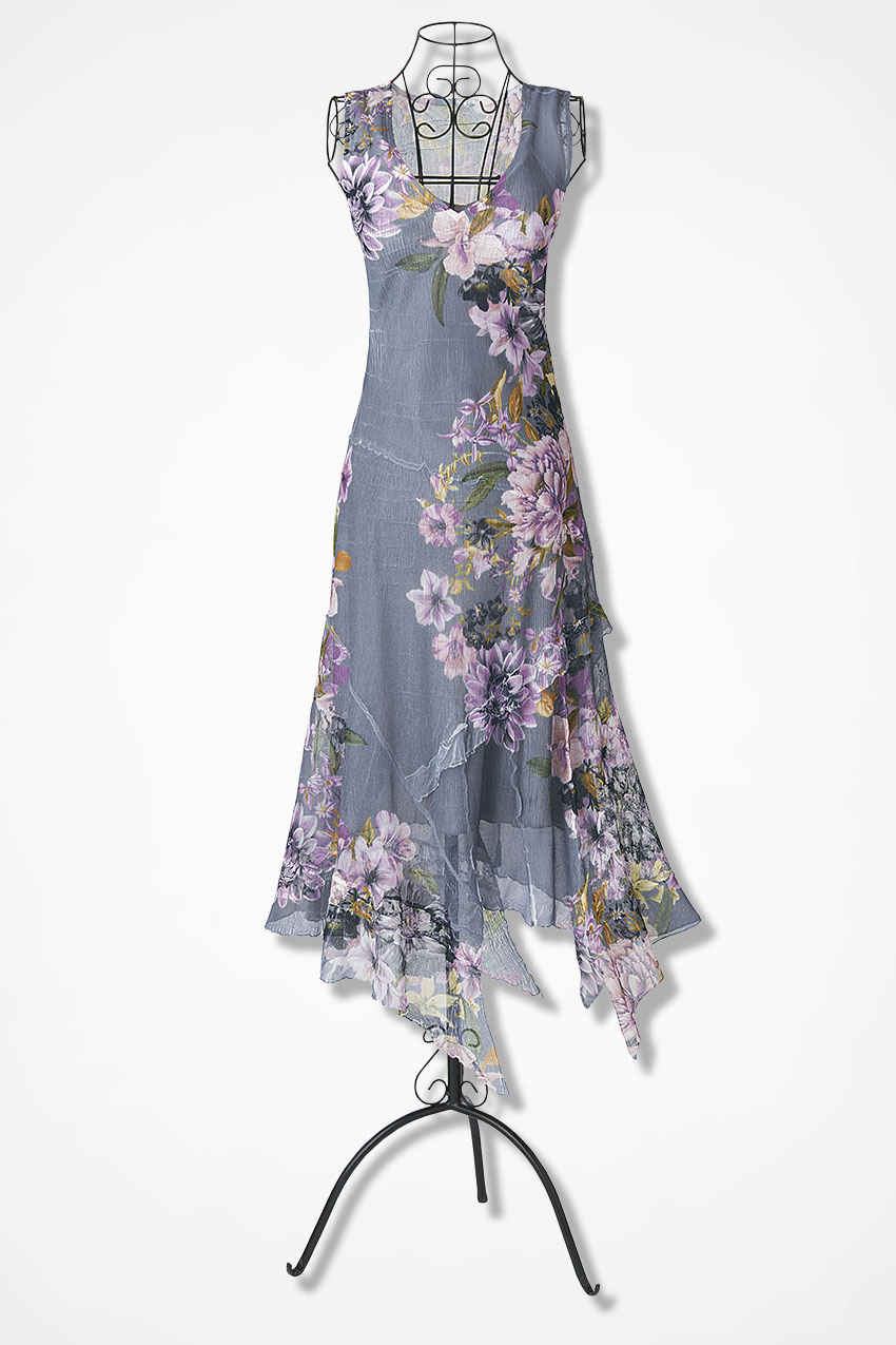 lavender fog dress by komarov coldwater creek
