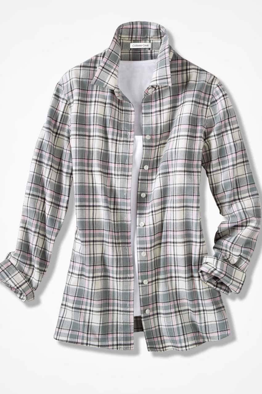 Northcountry Flannel Shirt Coldwater Creek