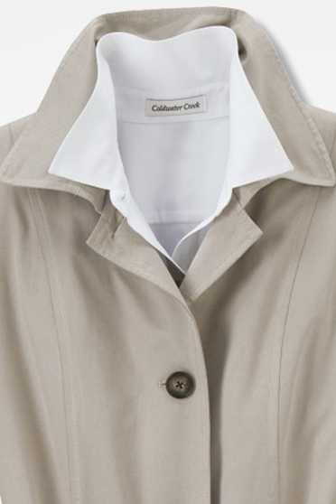 Essential Trench Coat - Coldwater Creek 3333f88462a
