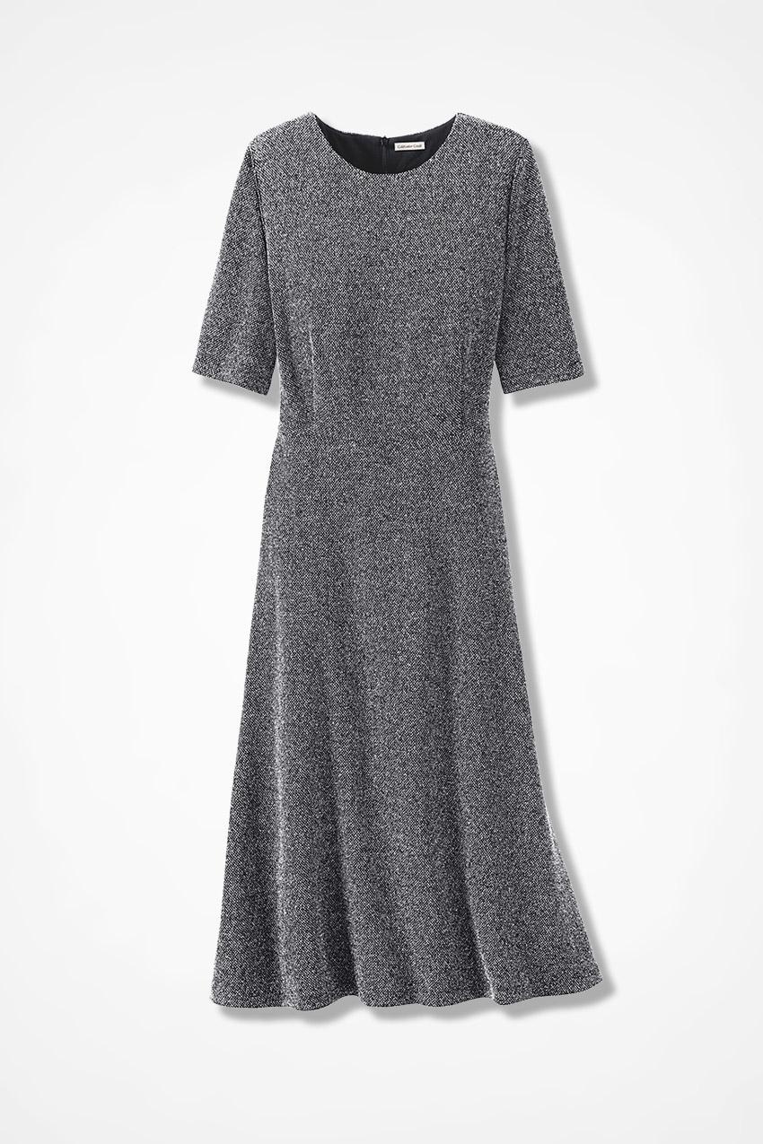 Take Tweed Knit Dress - Coldwater Creek