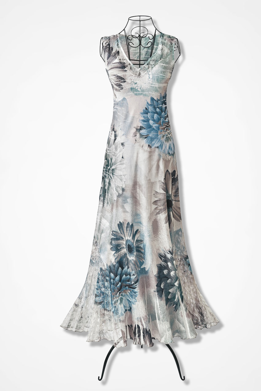 Fountain Bloom Dress By Komarov Coldwater Creek