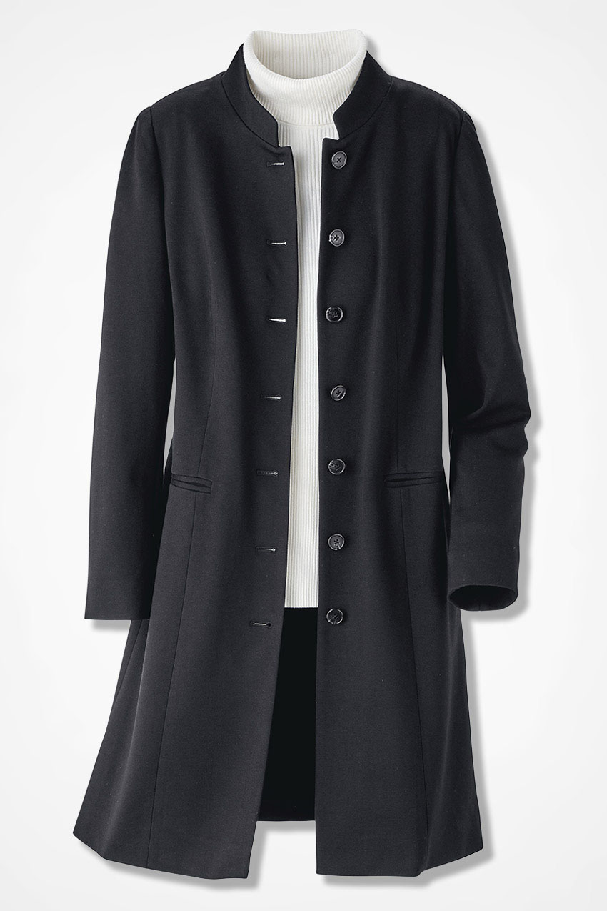 Ponte Perfect Duster Jacket Coldwater Creek