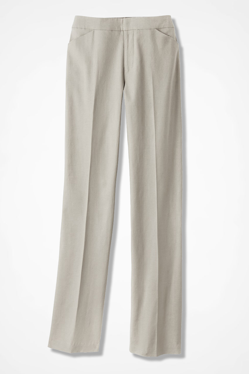 70c14fb1a7f26 Relaxed Linen Pants - Coldwater Creek