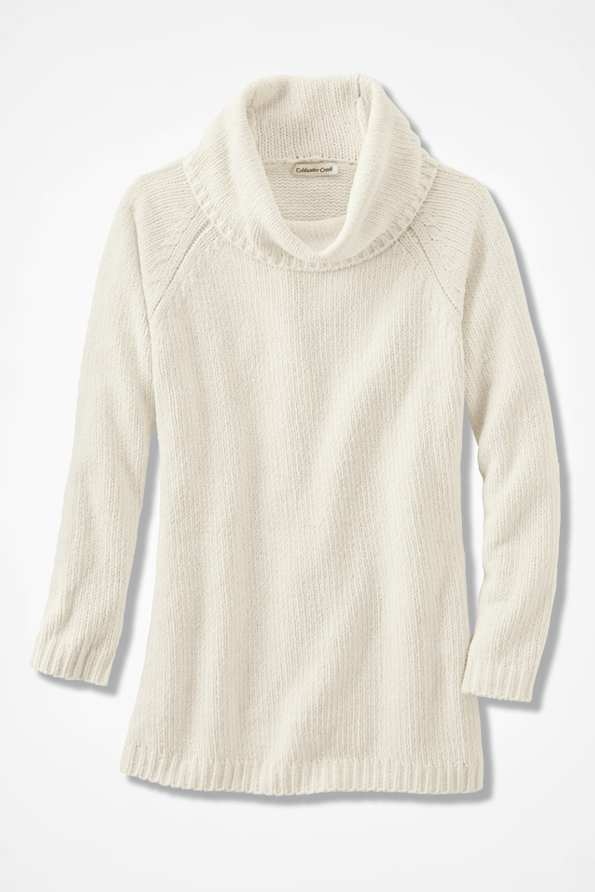 Oversized Chenille Sweater - Coldwater Creek