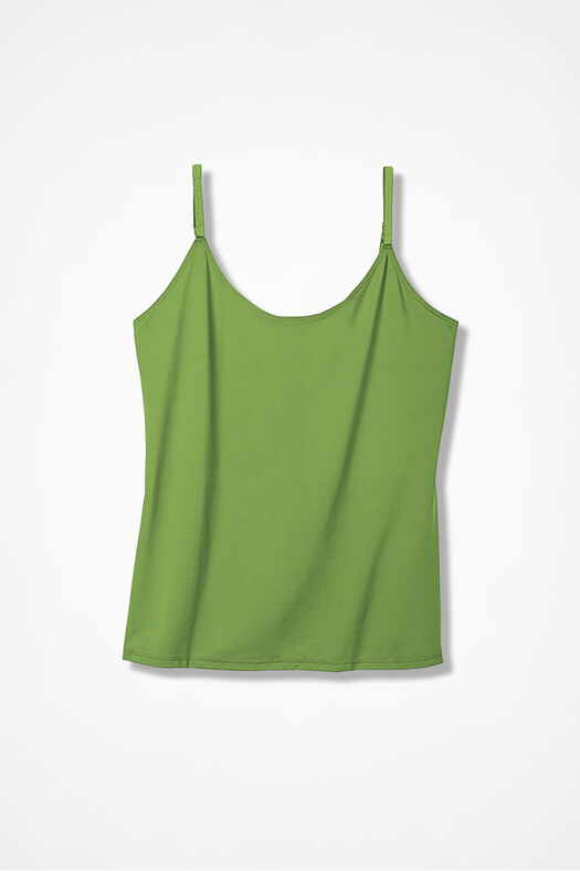 Essential Camisole, Mountain Green, large