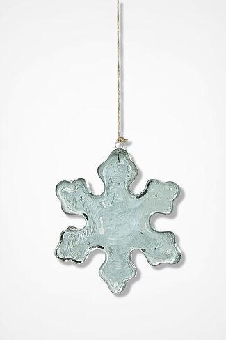Snowflake Suncatcher, Clear, large