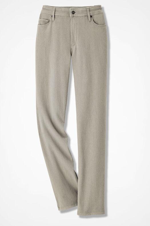 e0616c742e30 Classic Knit Denim Straight Leg - Women's Denim | Coldwater Creek