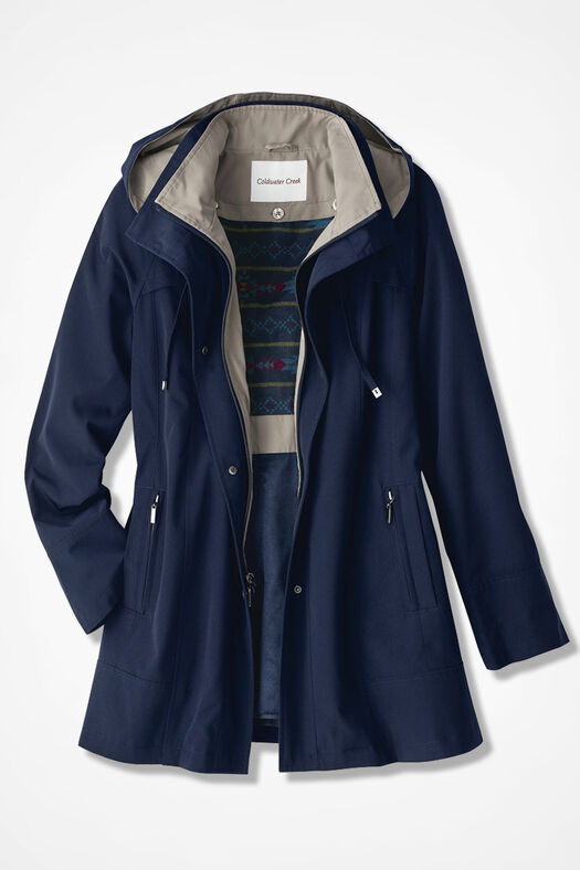 All-Season Jacket, Navy, large