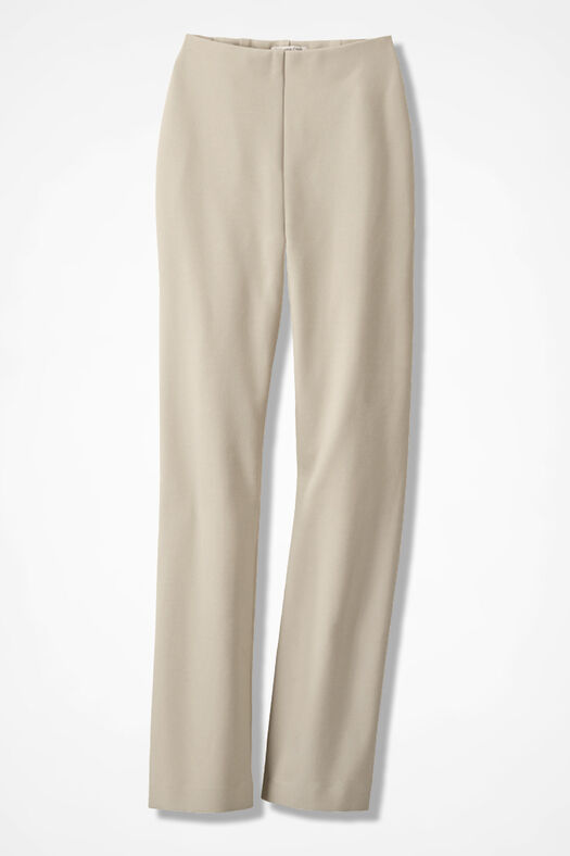 Ponte Perfect® Holly Pants, Alabaster, large