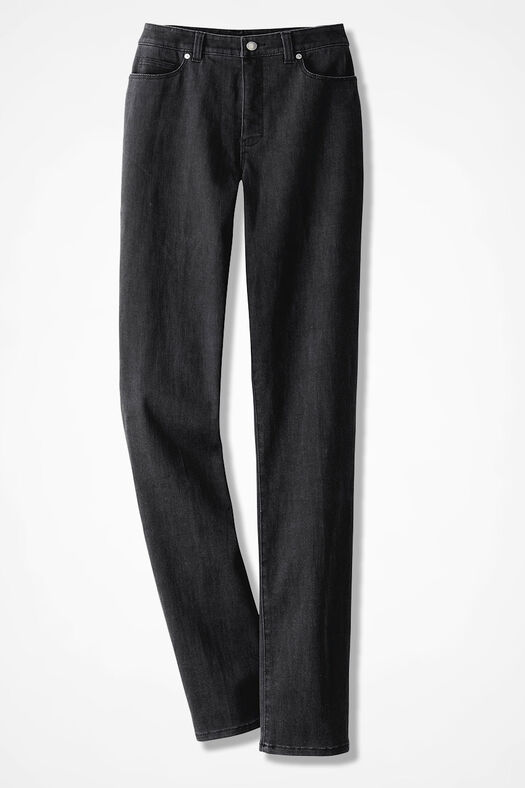 8afdf6028bf The Creek® ShapeMe® Relaxed Straight-Leg Jeans - Coldwater Creek