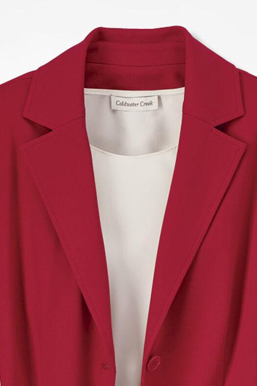 New Ponte Perfect® Boyfriend Jacket, Fresh Red, large