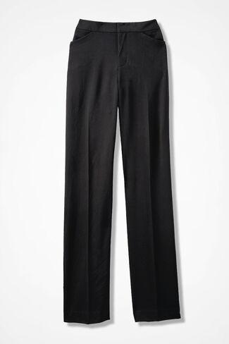 The Bi-Stretch Gallery Pant, Black, large