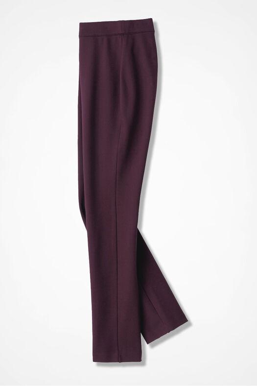 Ponte Perfect® Slim-Leg Leggings, Blackberry, large