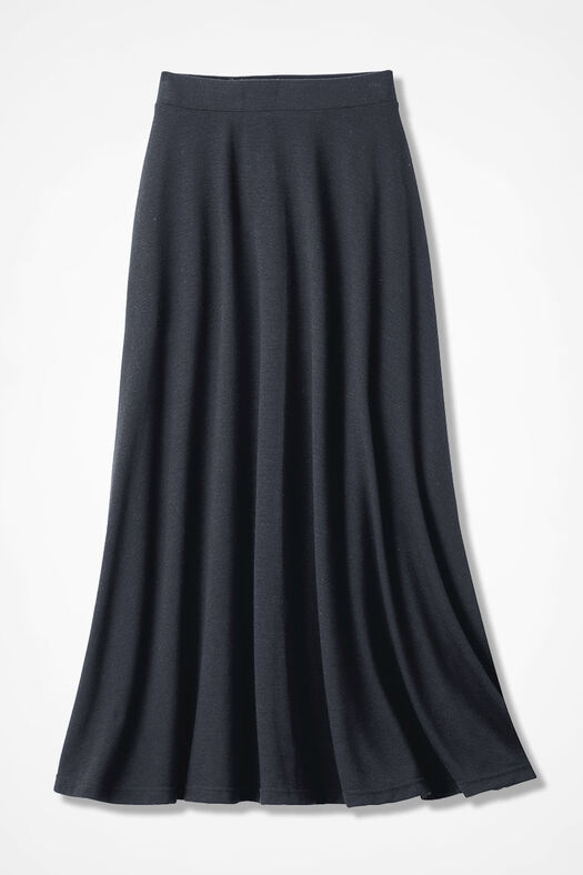 cee67277d50 Sweep-n-Swirl Knit Maxi Skirt - Coldwater Creek