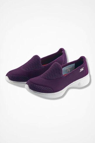 """""""Go Walk 4"""" Sneakers by Skechers®, Rich Raisin, large"""