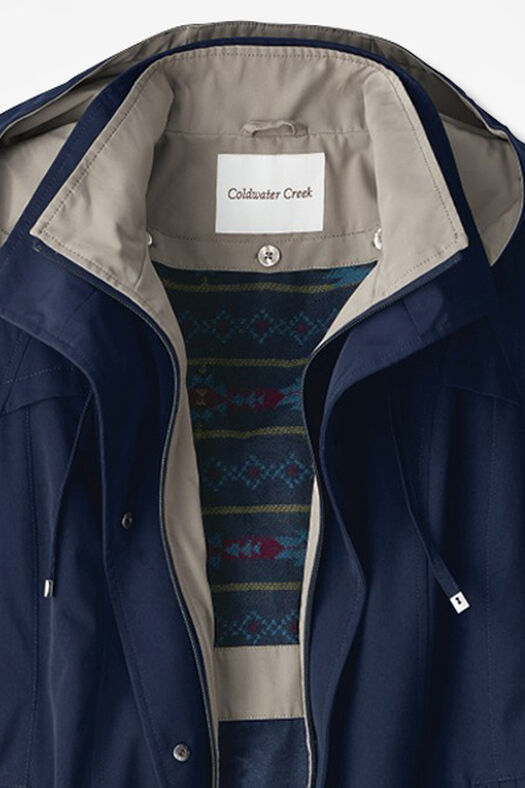 All-Season Jacket, Navy, large