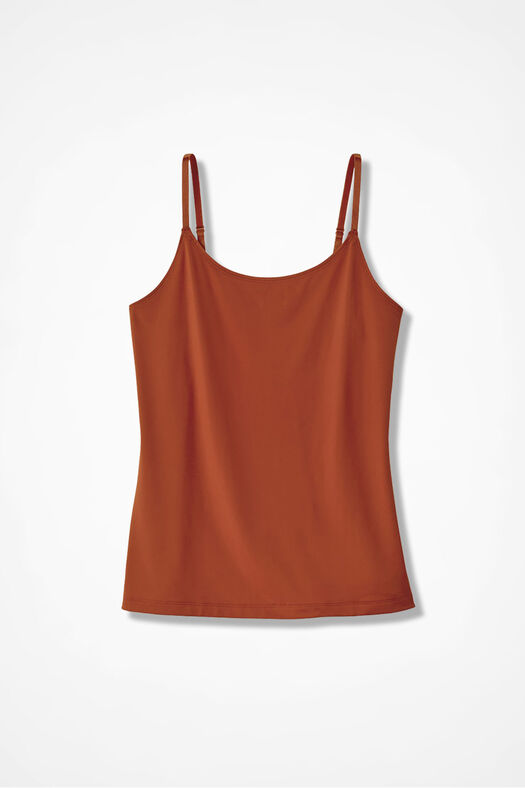 Essential Camisole, Bittersweet, large