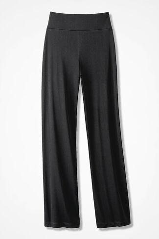 Destinations II Straight-Leg Pants, Black, large