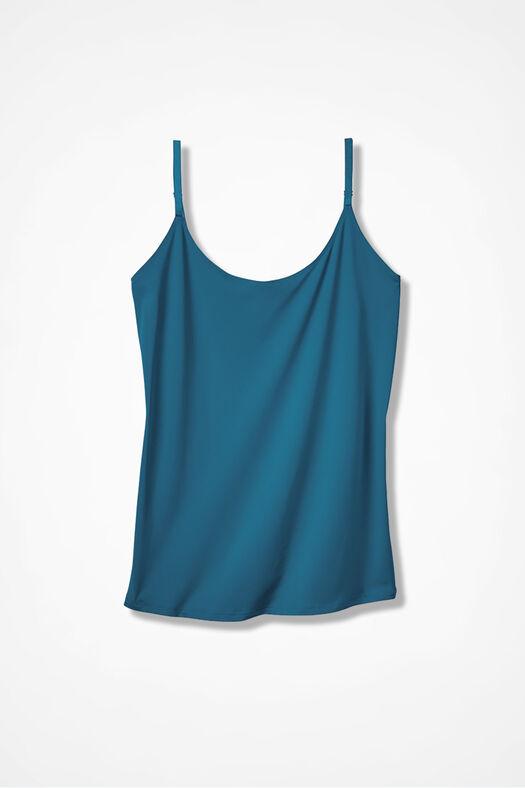 Essential Camisole, Mallard Blue, large