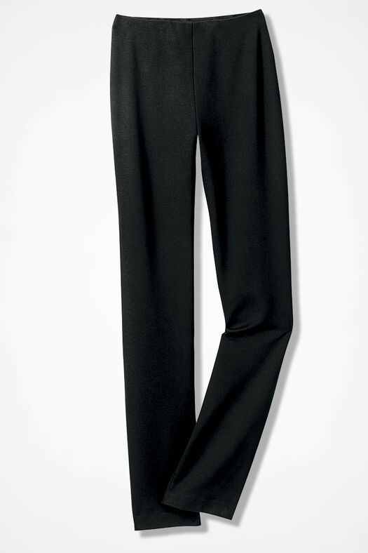 Ponte Perfect® Holly Pants, Black, large