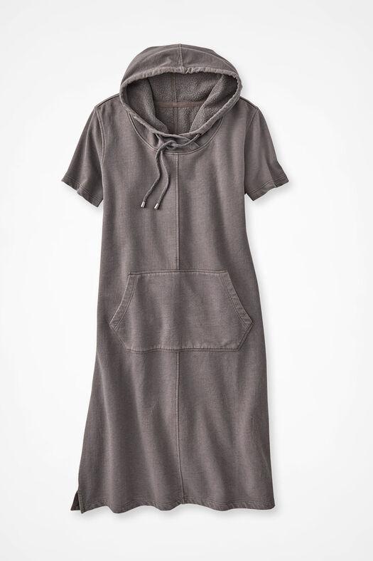 image of Fresh Breezes Hooded Fleece Dress, Sedona 0