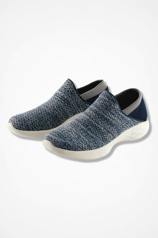 """""""You"""" by Skechers®, Navy, large"""