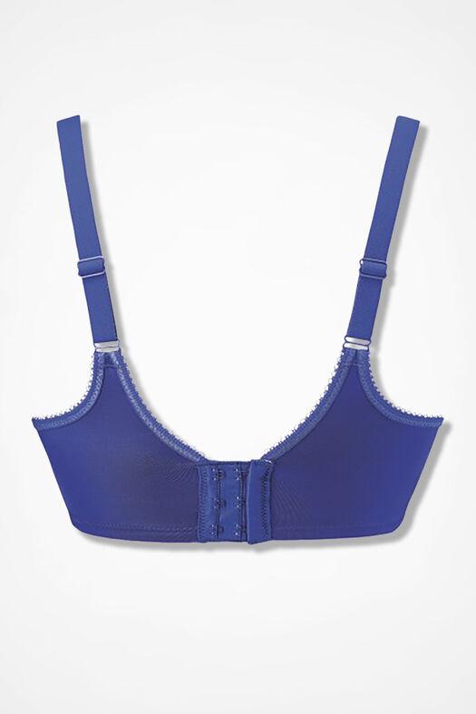 Wacoal® Basic Beauty Underwire T-Shirt Bra, Royal Blue, large