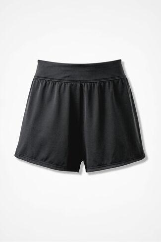 Swim Shorts, Black, large