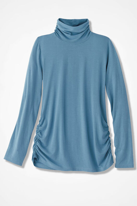 PrimaKnit® Turtleneck, Lagoon, large