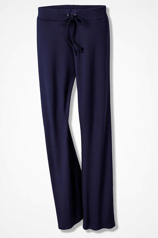 Essential Supima® Pants, Navy, large