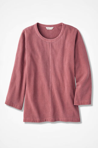 9587a824 Misses Long Sleeve & 3/4 Sleeve Knit Tops | Coldwater Creek