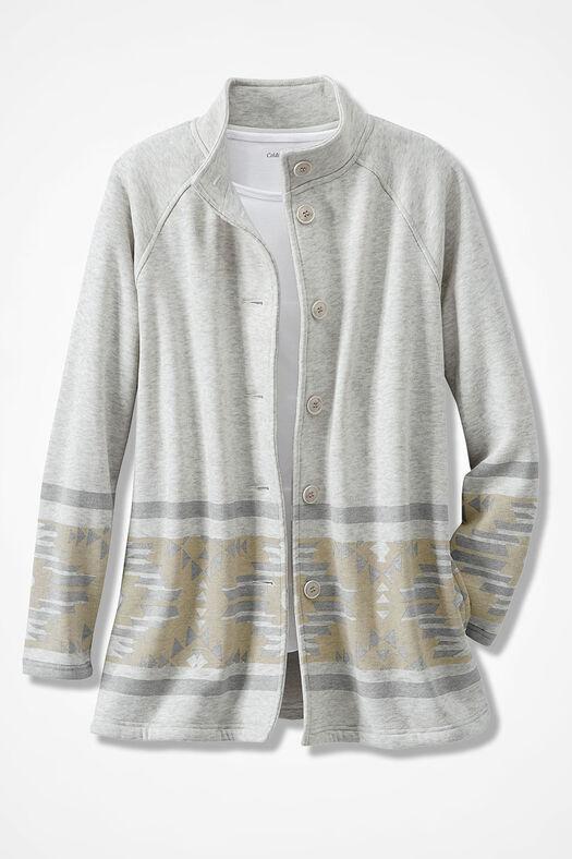Desert Daybreak Fleece Jacket, Multi, large